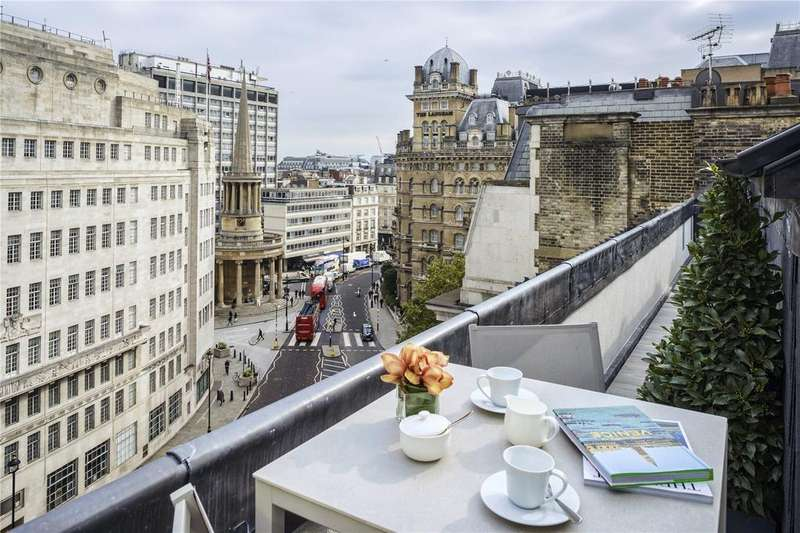 2 Bedrooms Penthouse Flat for sale in Portland Place, Marylebone, London, W1B