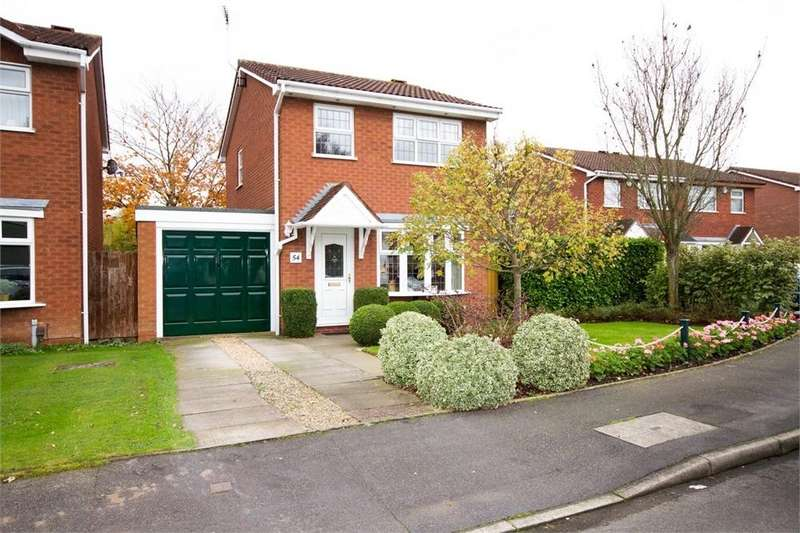 3 Bedrooms Detached House for sale in Abbeyfield Road, Old Hall Park, WOLVERHAMPTON, West Midlands