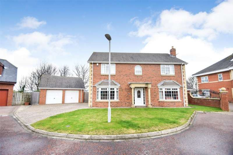 5 Bedrooms Detached House for sale in Countess Close, Seaham, Co Durham, SR7