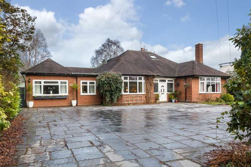 4 Bedrooms Detached Bungalow for sale in Nantwich, Cheshire