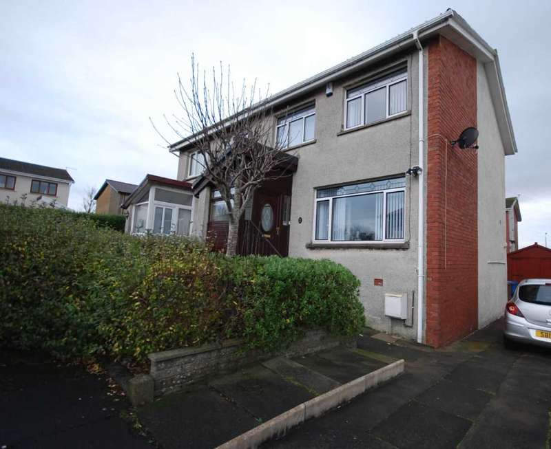 3 Bedrooms Semi Detached House for sale in Martin Square, Saltcoats