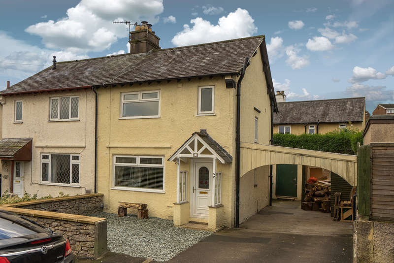 3 Bedrooms Semi Detached House for sale in 52 Echo Barn Hill, Kendal, Cumbria, LA9 5NA