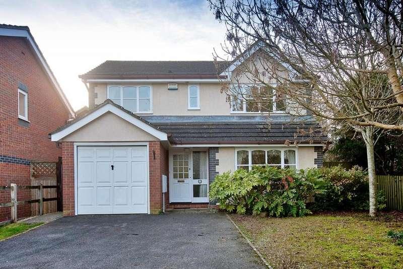 4 Bedrooms Detached House for sale in Wilman Way, Salisbury