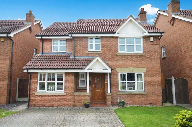 4 Bedrooms Detached House for sale in Palesides Avenue, Ossett