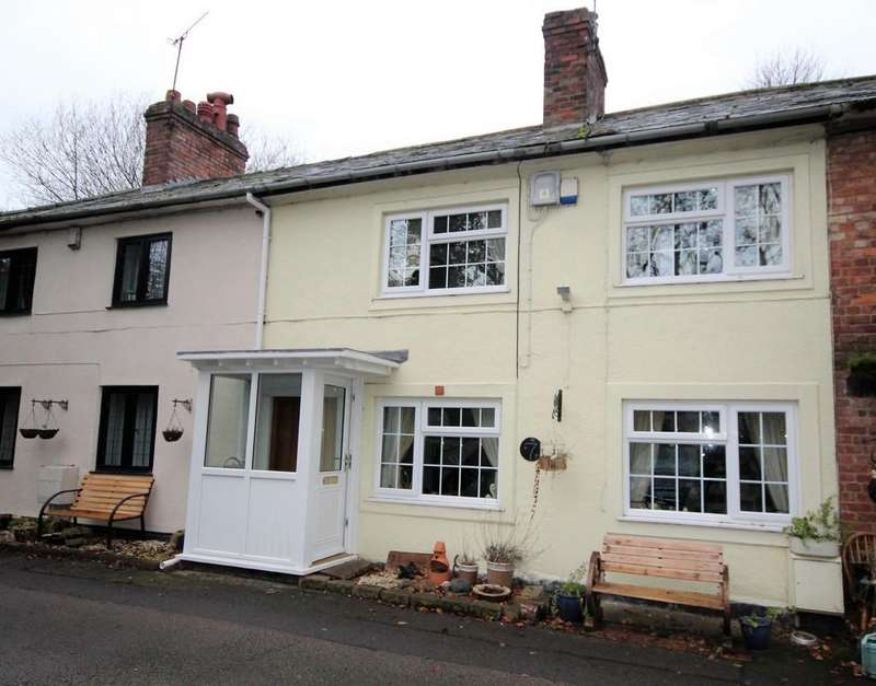 2 Bedrooms Terraced House for sale in Railway Terrace, Ruabon