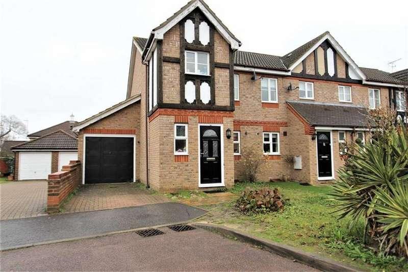 2 Bedrooms End Of Terrace House for sale in Ridgeways, Harlow