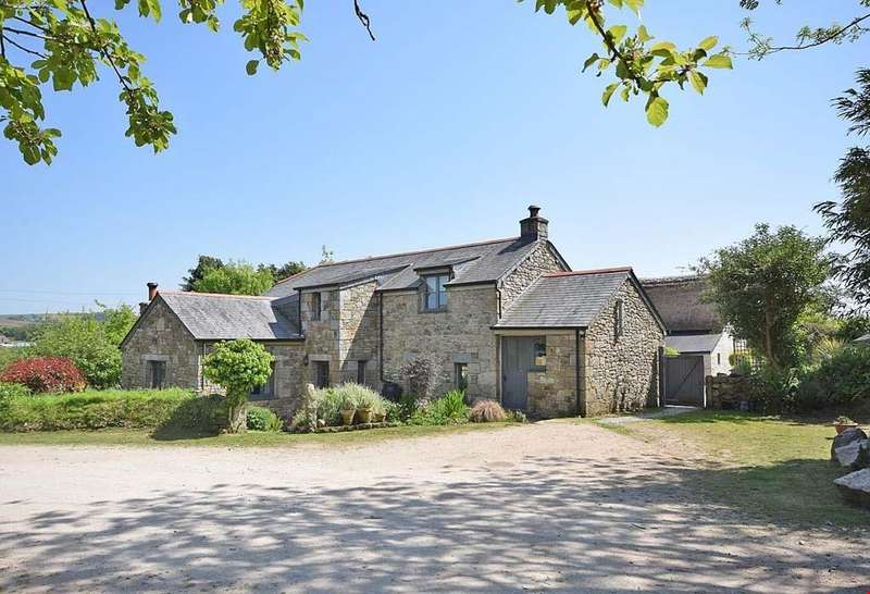 4 Bedrooms Detached House for sale in Nancegollan, Helston, Cornwall