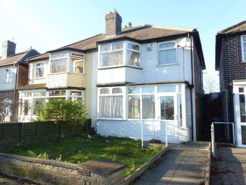 3 Bedrooms Semi Detached House for sale in Woolmore Road, Birmingham