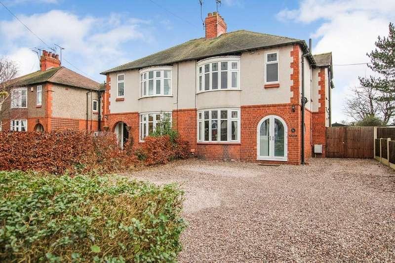 4 Bedrooms Semi Detached House for sale in Broughton Lane, Wistaston
