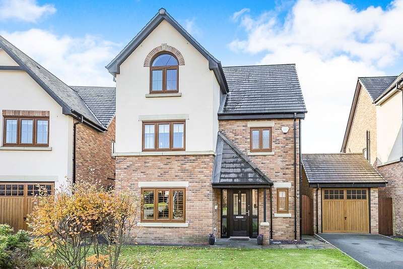 4 Bedrooms Detached House for sale in Stonemill Rise, Appley Bridge, Wigan, WN6