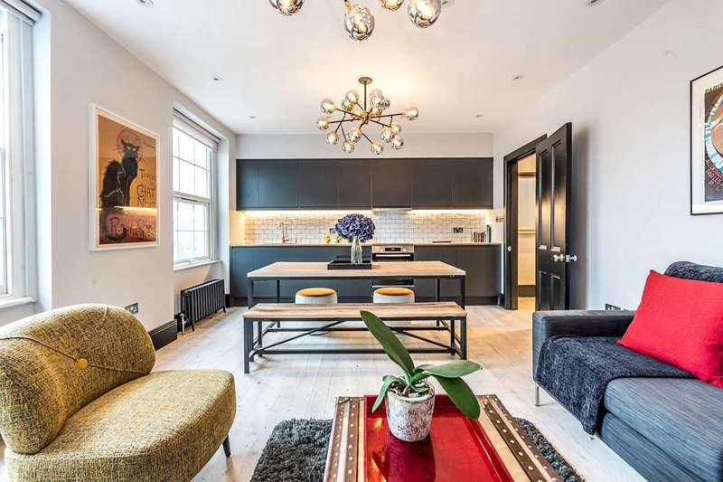 2 Bedrooms Flat for sale in Clapham Manor Street, London, SW4