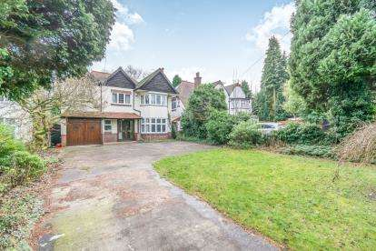 5 Bedrooms Detached House for sale in Yardley Wood Road, Moseley, Birmingham, West Midlands