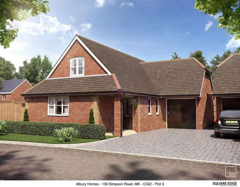 3 Bedrooms Detached House for sale in Walden Croft, Simpson, Milton Keynes