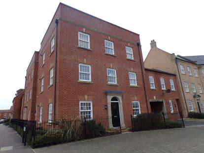 2 Bedrooms Maisonette Flat for sale in Saxon Way, Great Denham, Biddenham, Bedford
