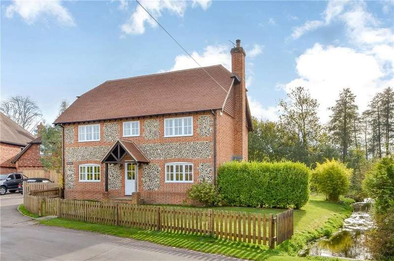 5 Bedrooms Detached House for sale in Longparish, Andover, Hampshire, SP11