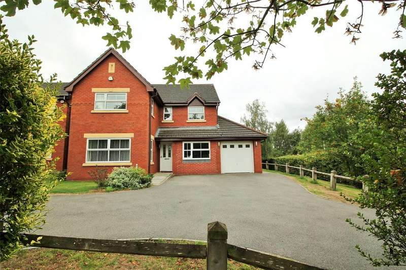 4 Bedrooms Detached House for sale in Westwood Drive, The Fairways, Wrexham, LL13