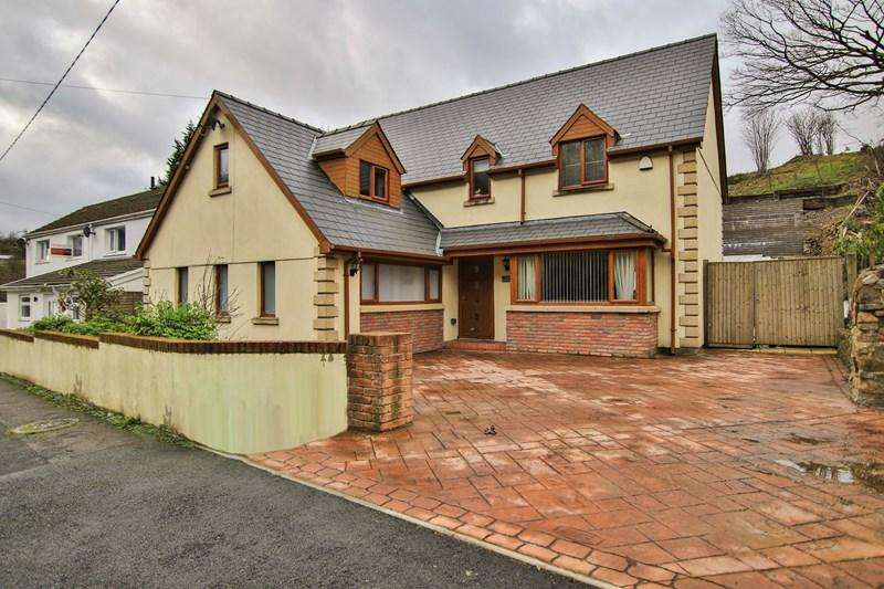 5 Bedrooms Detached House for sale in Reservoir Road, Beaufort, Ebbw Vale