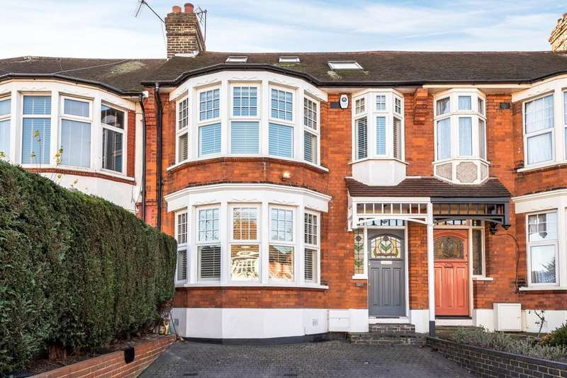 4 Bedrooms Terraced House for sale in Bourne Hill, Palmers Green