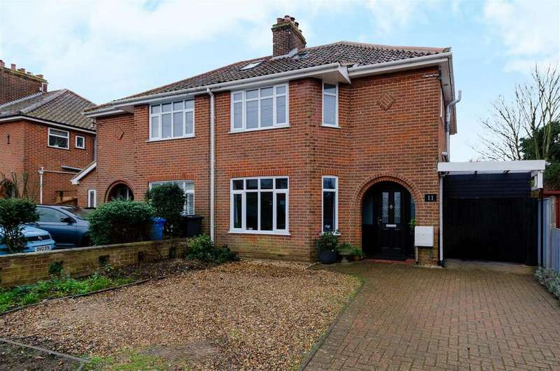 4 Bedrooms Semi Detached House for sale in Lady Betty Road, Norwich