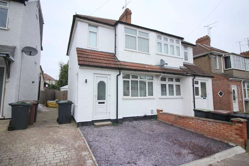 2 Bedrooms Semi Detached House for sale in Fourth Avenue, Luton, Bedfordshire, LU3 3BT