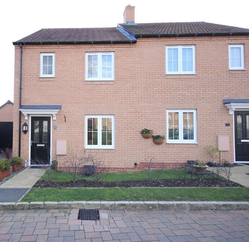 3 Bedrooms Semi Detached House for sale in Ash Tree Covert, Silsoe, Bedfordshire, MK45