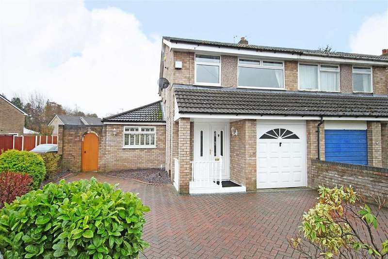 3 Bedrooms Semi Detached House for sale in Tottenham Drive, Baguley, Manchester