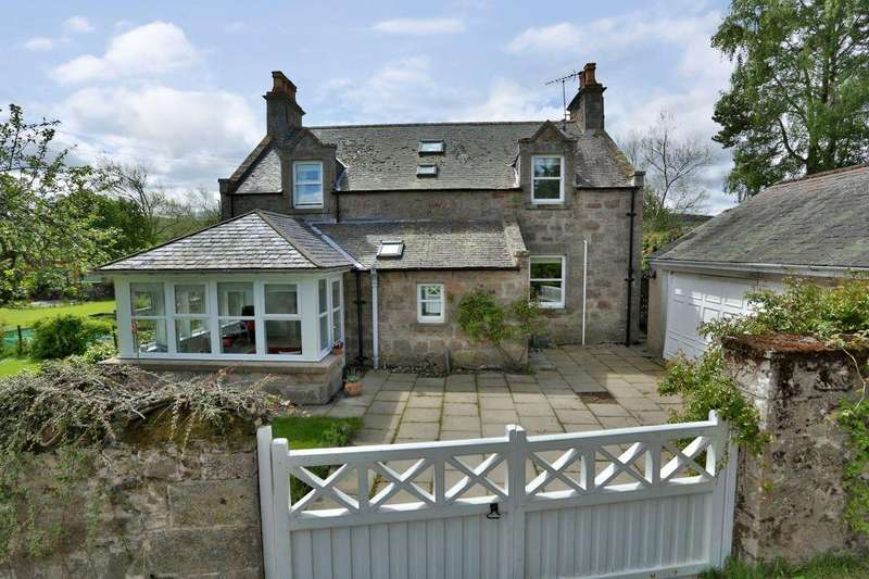 4 Bedrooms Detached House for sale in Kenstead House, Glenkindle, Alford, Aberdeenshire AB33 8RB
