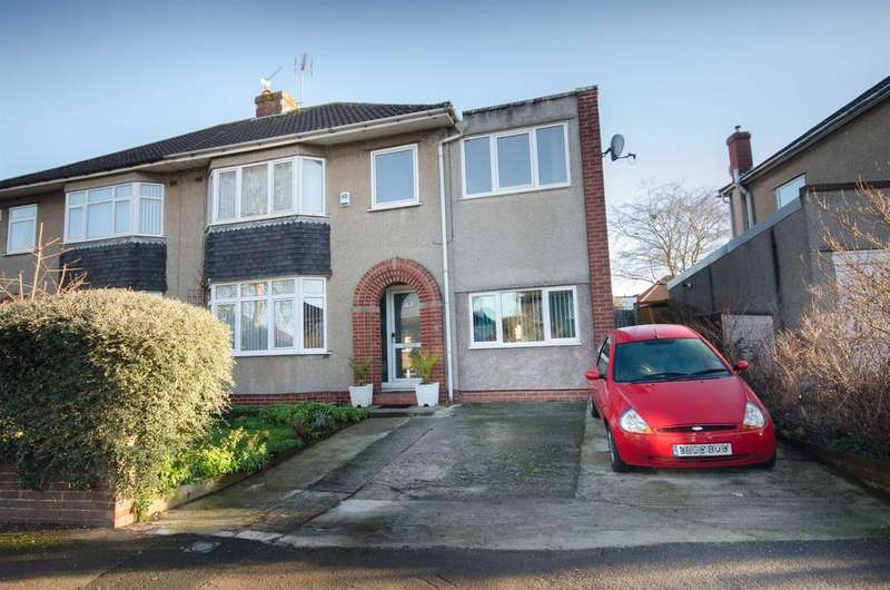 5 Bedrooms Semi Detached House for sale in Fouracre Road, Downend, BS16 6PH