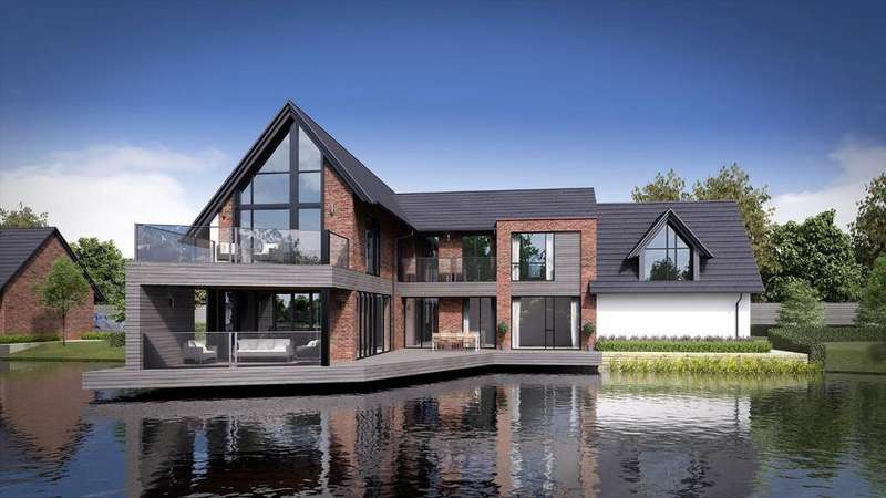 5 Bedrooms Detached House for sale in Edge House , The Lakes, South Park Drive