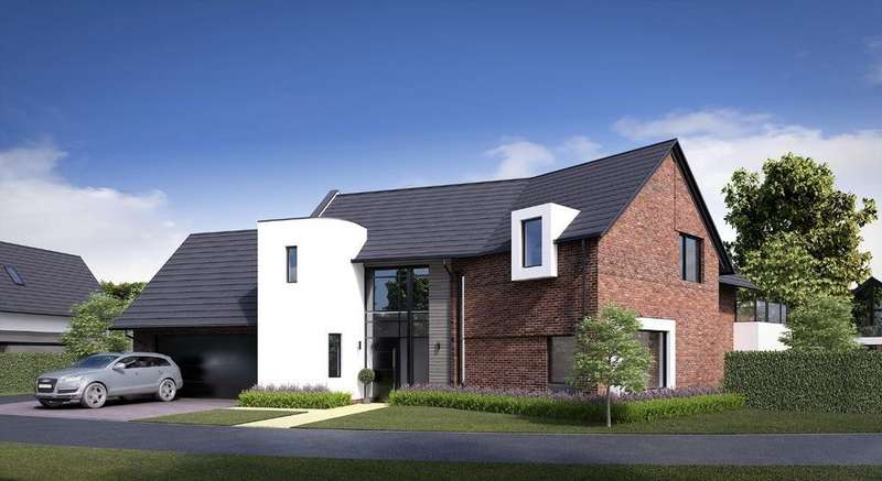 5 Bedrooms Detached House for sale in Herons View, The Lakes, South Park Drive
