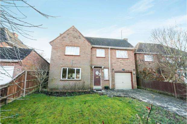 4 Bedrooms Detached House for sale in Eastrop, Basingstoke, Hampshire