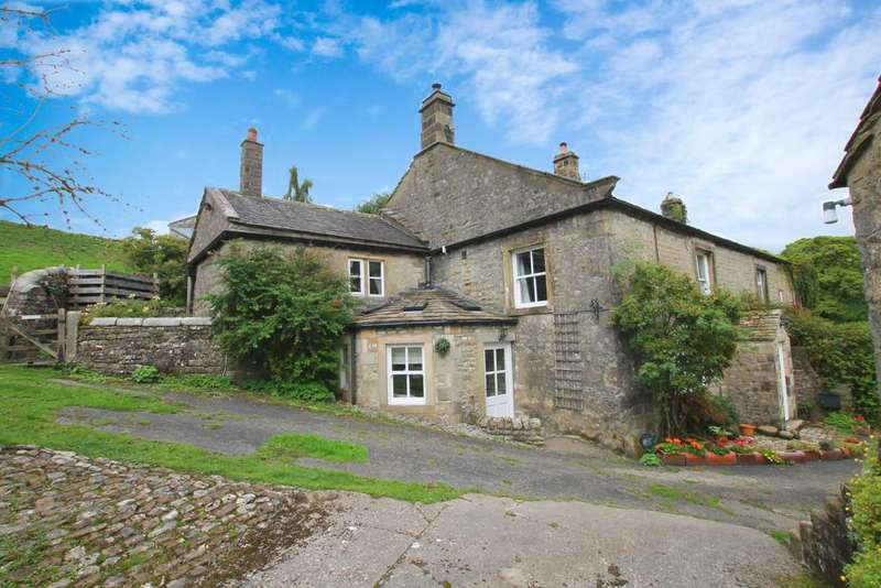 4 Bedrooms Farm House Character Property for sale in NETHER HESLEDEN FARM, LITTON, SKIPTON