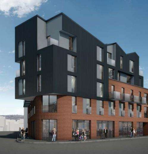 2 Bedrooms Apartment Flat for sale in Alma Street, Sheffield, South Yorkshire, S3 8RA