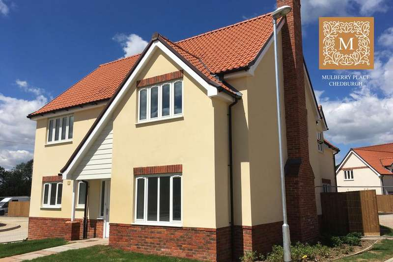4 Bedrooms Detached House for sale in Wellington Close, Chedburgh, Bury St Edmunds, IP29 4WE