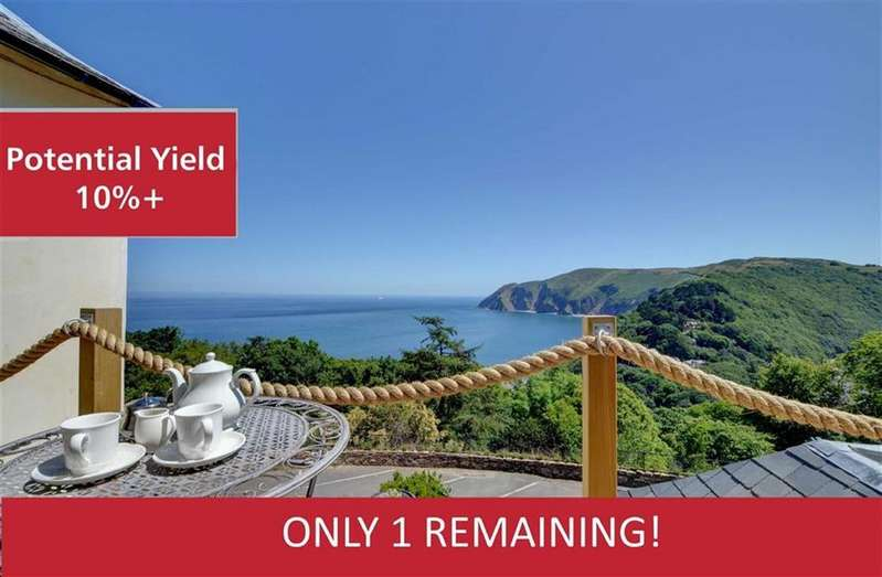 2 Bedrooms Apartment Flat for sale in Baywatch, Lynton Cottage Apartments, North Walk, Lynton, Devon, EX35