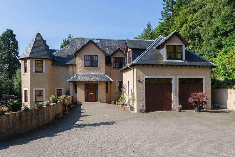 5 Bedrooms Detached House for sale in Castanea, The Woll, Ashkirk, Selkirk, Scottish Borders, TD7 4NY