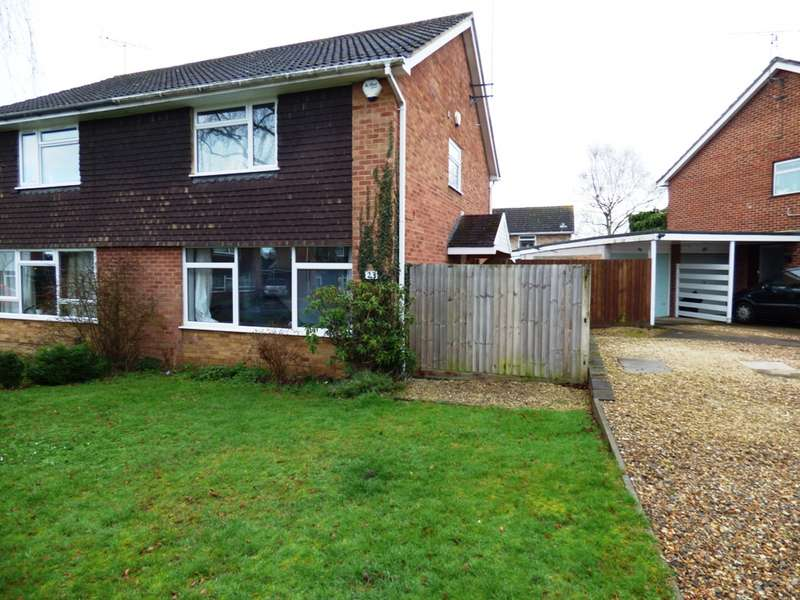 4 Bedrooms Semi Detached House for sale in Munro Avenue, Woodley