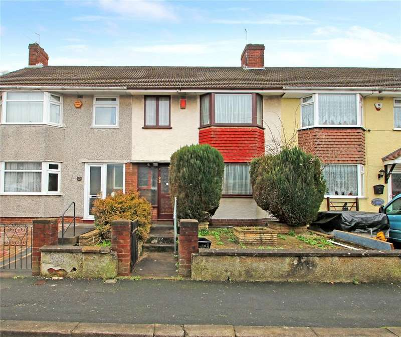 3 Bedrooms Terraced House for sale in Ilchester Crescent, Bedminster Down, BRISTOL, BS13