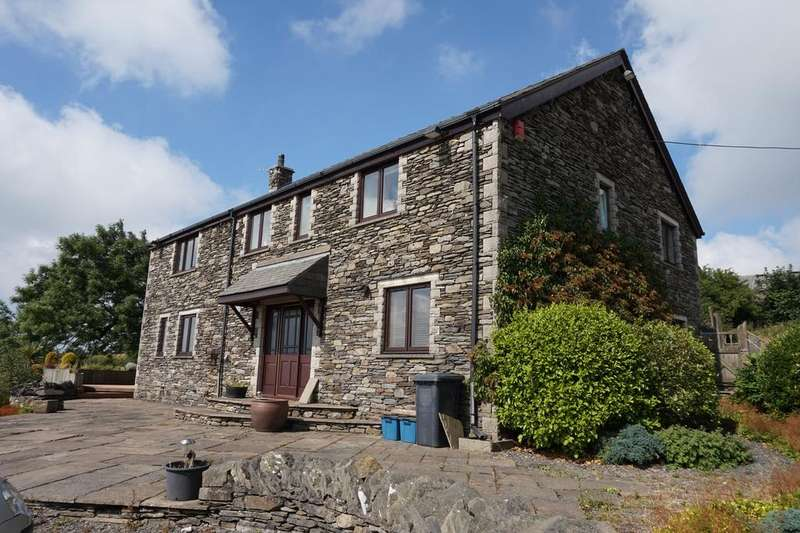 4 Bedrooms Barn Conversion Character Property for sale in Walthwaite, Pennington, Near Ulverston