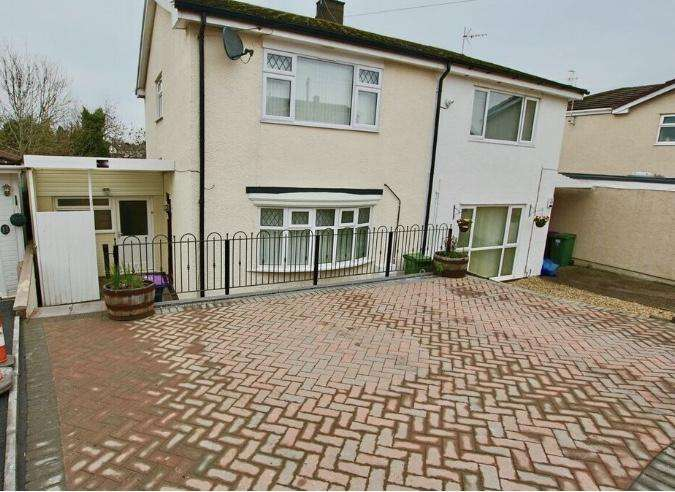 3 Bedrooms Semi Detached House for sale in Park Lawn Close, Pontnewydd, Cwmbran, NP44 1ER