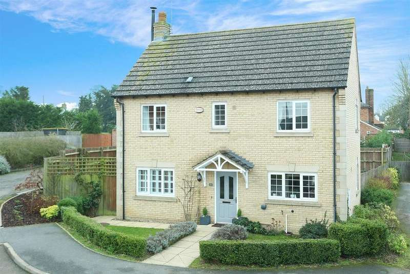 3 Bedrooms Detached House for sale in Ashacre Close, Husbands Bosworth