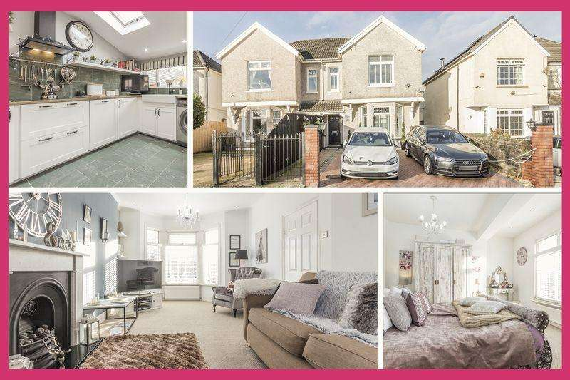 3 Bedrooms Semi Detached House for sale in 26 Gwerthonor Road, Bargoed - REF# 00005783 - View 360 Tour at http://bit.ly/2QAB5RV