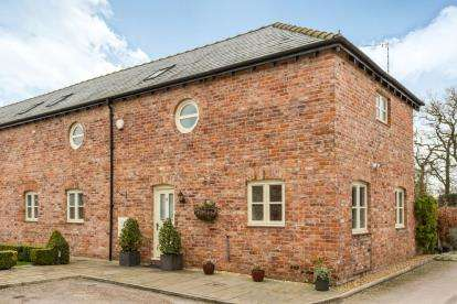 3 Bedrooms Barn Conversion Character Property for sale in Smethwick Hall Farm Barns, Smethwick Lane, Brereton, Sandbach