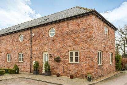 3 Bedrooms Barn Conversion Character Property for sale in Smethwick Hall Farm Barns, Smethwick Lane, Brereton, Sandbach