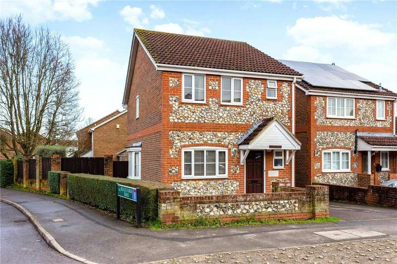 3 Bedrooms Detached House for sale in Bockhampton Road, Lambourn, Hungerford, Berkshire, RG17