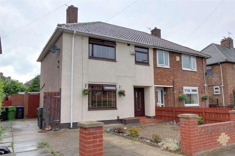 3 Bedrooms Semi Detached House for sale in Ingram Road, Berwick Hills