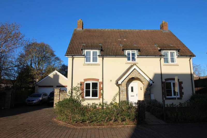 4 Bedrooms Detached House for sale in Dairy Way , Chew Stoke