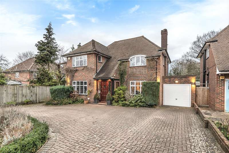 4 Bedrooms Detached House for sale in Clonard Way, Pinner, Middlesex, HA5