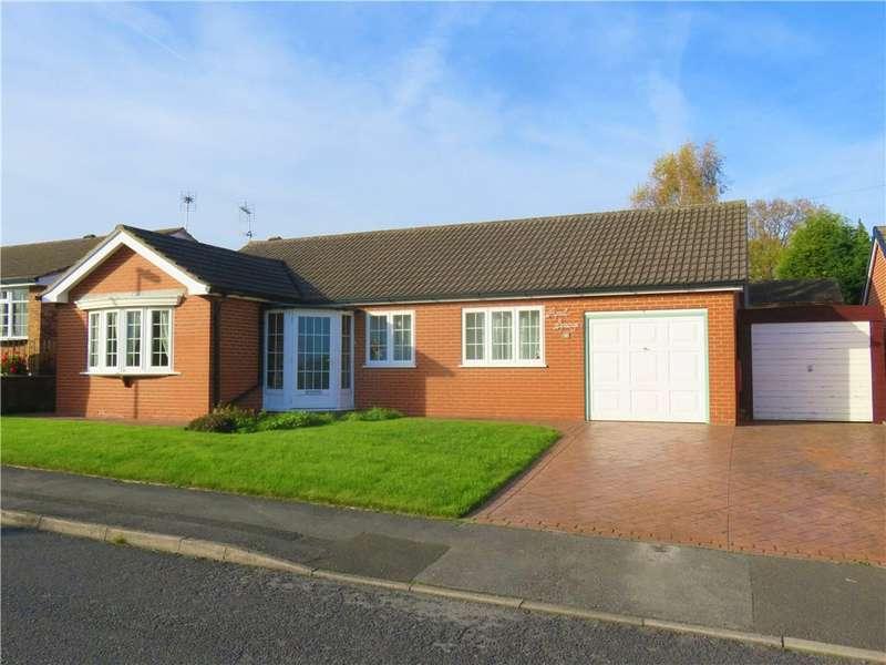 3 Bedrooms Detached Bungalow for sale in Highfield Close, Loscoe, Heanor, Derbyshire, DE75