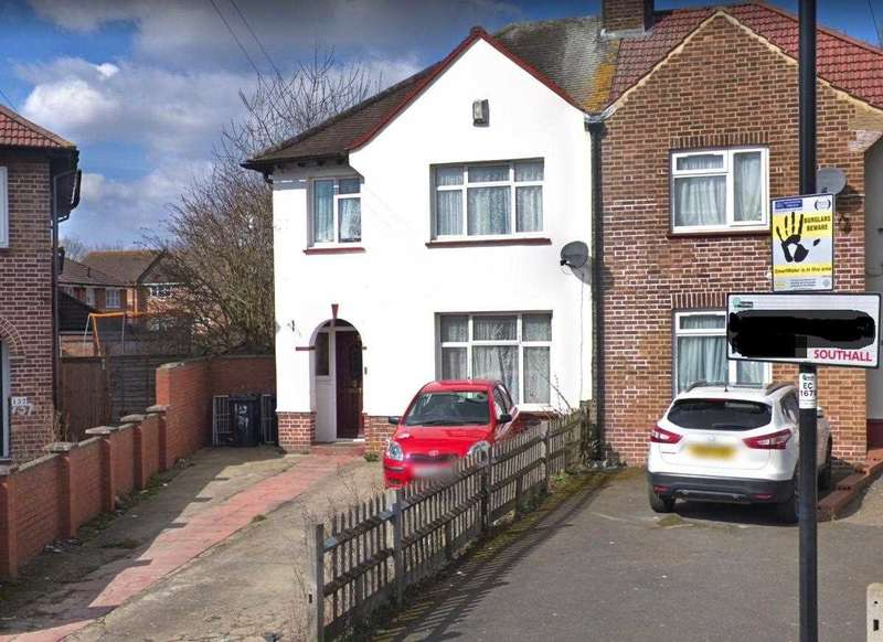 4 Bedrooms Semi Detached House for sale in Dane Road, southall